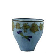 Albert Dammouse (1848-1926). Coupe. 1899-1900. Pâte de verre.