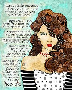 Scorpio vanity-scorpio - Click image to find more Food & Drink Pinterest pins