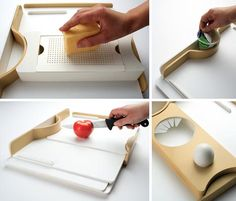 On the One Hand: Clever Single-Handed Kitchware Design