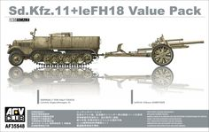 Sd.Kfz.11+leFH18 Value Pack – AFV Club 35S48