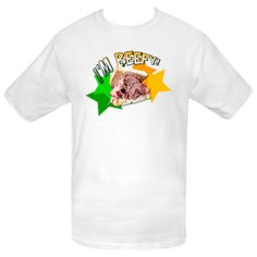 I'm Beefy! Men's T-Shirt - White $10.79