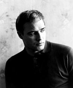 "brando-monroe-dean: "" Marlon Brando photographed by Bert Stern on the set of The Fugitive Kind,1959. """