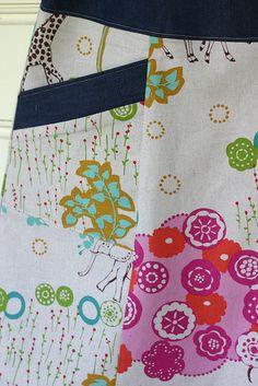 Echino Skirt - Simplicity 2152