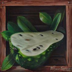 O cheiro inigualável desta fruta genuinamente brasileira, retratada dentro de uma caixa com hiper realismo.