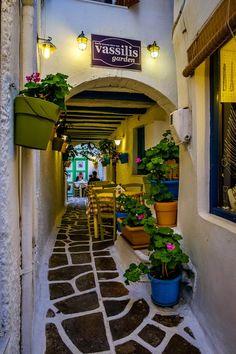 A tavern in Naxos island, Greece
