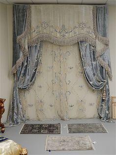 Old World draperies
