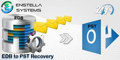 EDB to PST File Recovery software is well designed program to recover damage exchange EDB file and convert EDB file to PST outlook with other 3 format as:- EML/MSG and HTML. Enstella EDB to PST software fixes errors of exchange server there after you can also save EDB file as PST outlook at your desire location in your PC.  Read More:- http://mail2web.com/plugins/addons/outlook/email-management/convert-edb-file-to-pst-free_9134.html