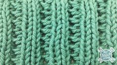 How to Knit the Fancy Slip Stitch Rib Pattern.. Excited for a new project
