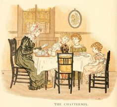 Little Ann, a book by Kate Greenaway 1880 - Plate 21