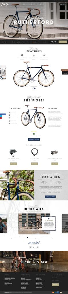 Bike Company Concept by Green Chameleon.