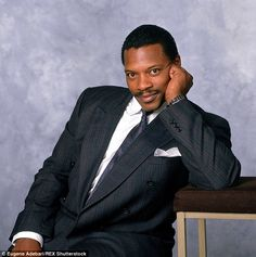 Back in the day: Alexander, pictured in 1989, found fame thanks to R&B classics likeCriticize andIf You Were Here Tonight