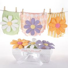 Bunch O'Bloomers - 3 Bloomers for Blooming Bums - Baby Gifts $29.99