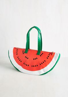 Feelin' Like a Melon Bucks Cooler Bag. Give a whole new meaning to keepin it fresh with this insulated cooler bag. #multi #modcloth