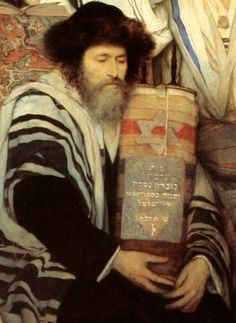 GOTTLIEB, Maurycy Polish (1856-1879)_Jews Praying in the Synagogue on Yom Kippur, 1878 detail