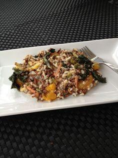 Vegetarian Quinoa, Brown Rice & Veggies