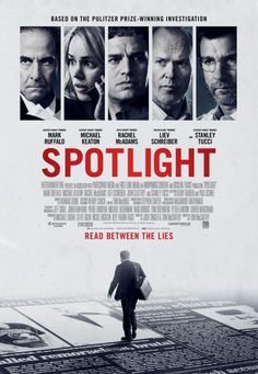SPOTLIGHT... Awesome.Definitely a movie everyone should see.. Fantastic acting and a true story that affected so many people.