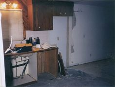 extreme manufactured home kitchen remodel The before and afters are amazing on http://mobilehomeliving.org/extreme-single-wide-home-remodel/ wow cool!