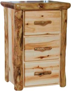 Aspen Log 3 Drawer Dresser