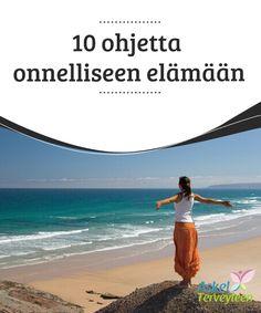 10 ohjetta onnelliseen elämään   Jos elämääsi #varjostaa jatkuva #mielipaha, stressi tai pettymys, lue tämä artikkeli ja nappaa käyttöösi 10 vinkkiä #onnellisempaan elämään.  #Terveellisetelämäntavat Diabetes, Beach, Water, Outdoor, Body Scrubs, Good Habits, Self Help, Stress, Tips