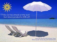 Flash Sale: Sun Block Products 20% off - KollectionK