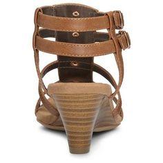 Women's A2 by Aerosoles Mayor Heeled Gladiator Sandals - Tan 10.5