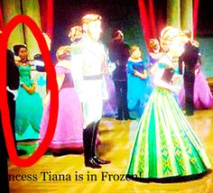 Princess Tiana is in Frozen!