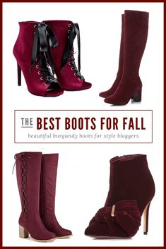 1536cffcba1fa Beautiful red boots and footwear for winter - a shoppnig guide  fashion   style