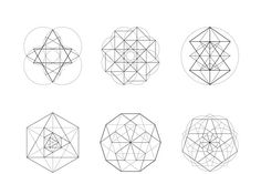 Sacred Geometry BUNDLE: 60 Items - Illustrations