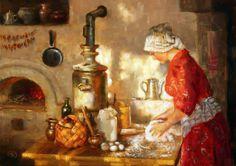 Painter VLADIMIR ZHDANOV (Rusia)   Beauty in Art