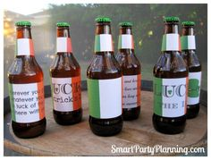 Printable Beer Labels For St Patricks Day