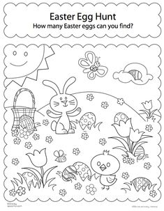 Free Easter Colouring Pages ColouringColouring PagesColoringEgg HuntHappy