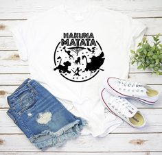 Hakuna Matata shirt Disney Family Shirt Animal Kingdom   Etsy Boy Disney Shirts, Disneyland Shirts, Disney Shirts For Family, Baby Shirts, Family Shirts, Disney Family, Lion King Shirt, College Shirts, Hakuna Matata