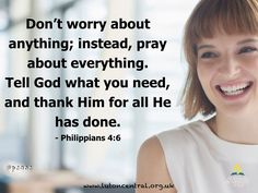 Philippians 4:6 #peace #pray #thankful #noworries #God #lifelesson #verseoftheday #bible #scripture #truth