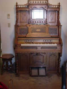 "My grandmother had one of these in the ""pasrlor"" of her home.  After I learned to play the piano she would let me play on this.  You get exercise with the music."