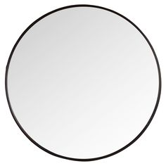 Miroir rond en métal D81 | Maisons du Monde