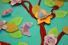 @~~wavegirl~~ Butterfly Fondant Cake - My first fondant cake! :)