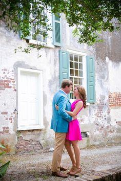 Classic Charleston Engagement Session // Dana Cubbage Weddings // Charleston SC + Destination Wedding Photographer