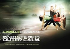 Les Mills Group Fitness: BodyFlow (aka BodyBalance)