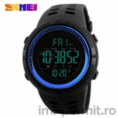 SKMEI Men Sports Watches Countdown Double Time Alarm Chrono Digital Wristwatches - Red - Men's Watches, Men' Casual Watches # # Color: Red SKU: Gift-wrap: Available Casual Watches, Men's Watches, Watches For Men, Wrist Watches, Jewelry Watches, Popular Watches, Cheap Watches, Luxury Watches, Analog Watches