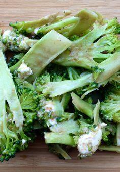 Shaved Broccoli Salad Recipe
