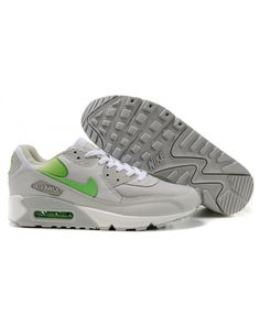 buy popular 81d3f 4477a Nike Air Max 90 Hyperfuse Light Grey Green Sale Online
