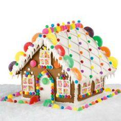Enchanted estate gingerbread house