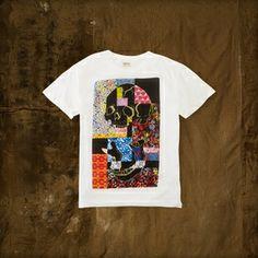 Denim & Supply Limited Edition Art Wall Tee ($50) Ralph Lauren New York, Street Work, Denim And Supply, Tee Shirts, Tees, Street Artists, Installation Art, Graphic Prints, Screen Printing