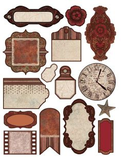 Free printable from paperwishes.com that goes with their Heritage Paper Pack http://www.paperwishes.com/products/4104173