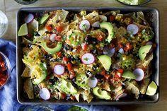 corn and black bean weeknight nachos