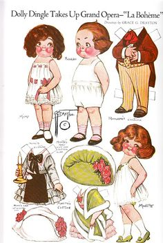 Paper Dolls~Adventures of Dolly Dingle - Bonnie Jones - Picasa Webalbumok