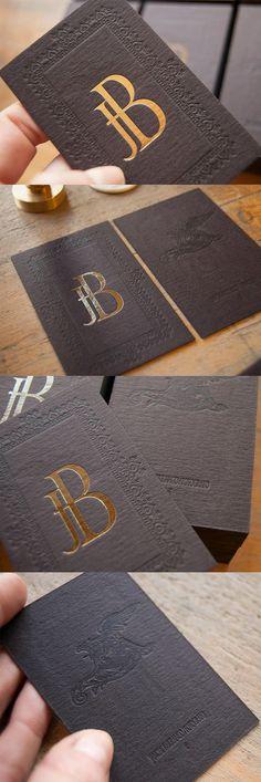 PVC Metallic Ink Business Cards - Quieres una tarjeta como esta? Con nosotros…