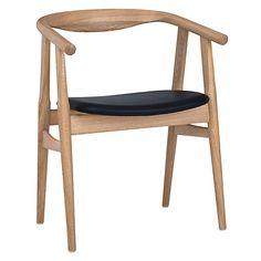 "Buy Hans J Wegner The ""U"" 525 Chair Online at johnlewis.com"