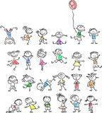 Illustration: Симпатичные счастливых детей мультфильм