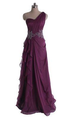 Long Bridesmaid Dresses Elegant Plicated One Shoulder Bridesmaid Dress DVP0300